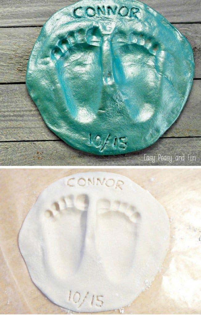 Footprint Salt Dough Keepsake