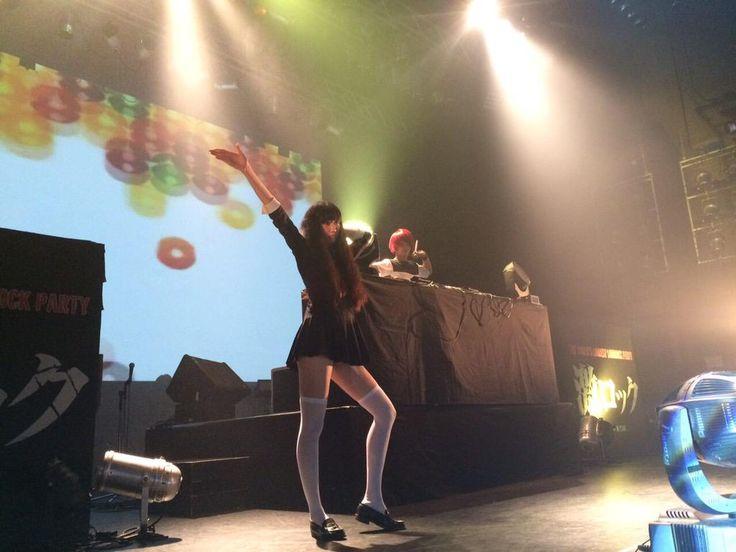 DJ MAtSUがメインステージに登場!!! なんとオドループでアリスムカイデ氏登場!!!!