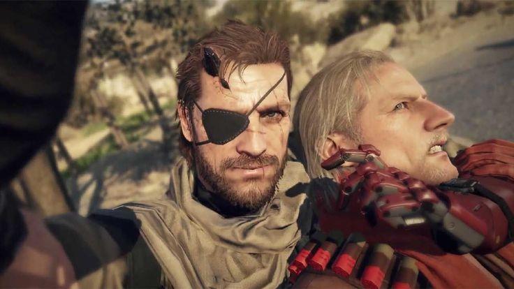 Snake dan Ocelot Selfie Mesra Dalam Mode Online Multiplayer Metal Gear Solid V: The Phantom Pain