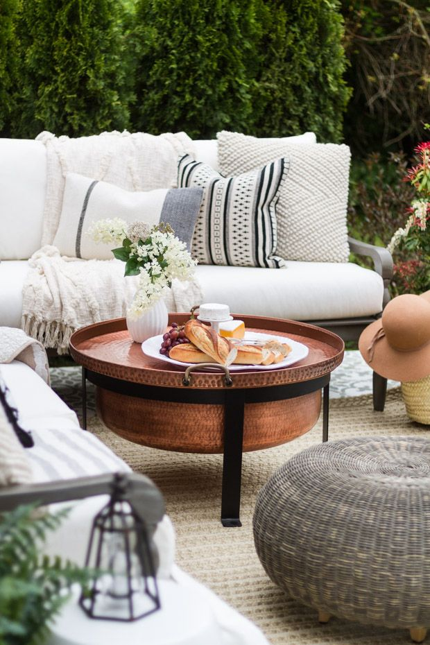 A multipurpose patio reveal with eating and lounging areas. Room to develop, eat an…