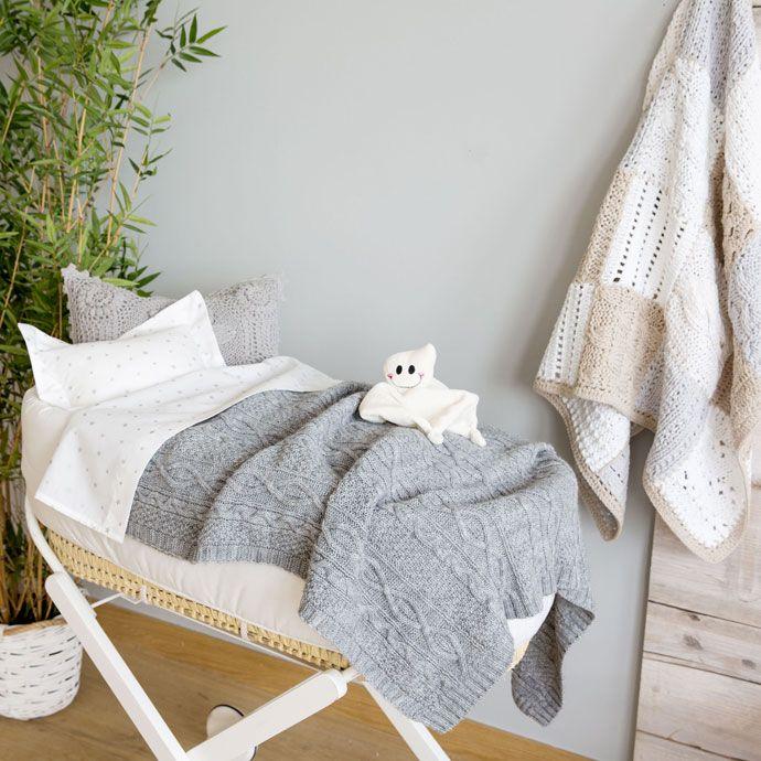 Metalik detaylı kroşe battaniye - Battaniyeler - Yatak Odası | Zara Home Turquia