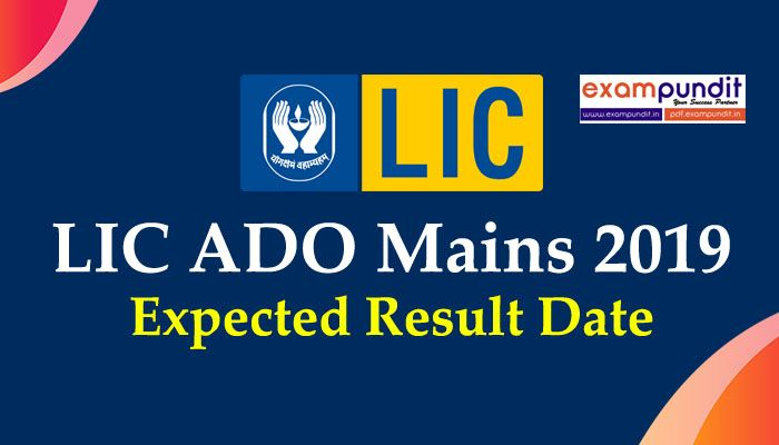 Lic Ado Mains Result 2019 Out 2019 Check Here Exam Study
