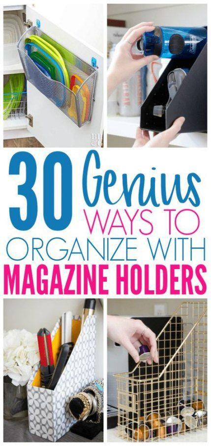 House organization diy magazine holders 50+ Ideas | Diy ...