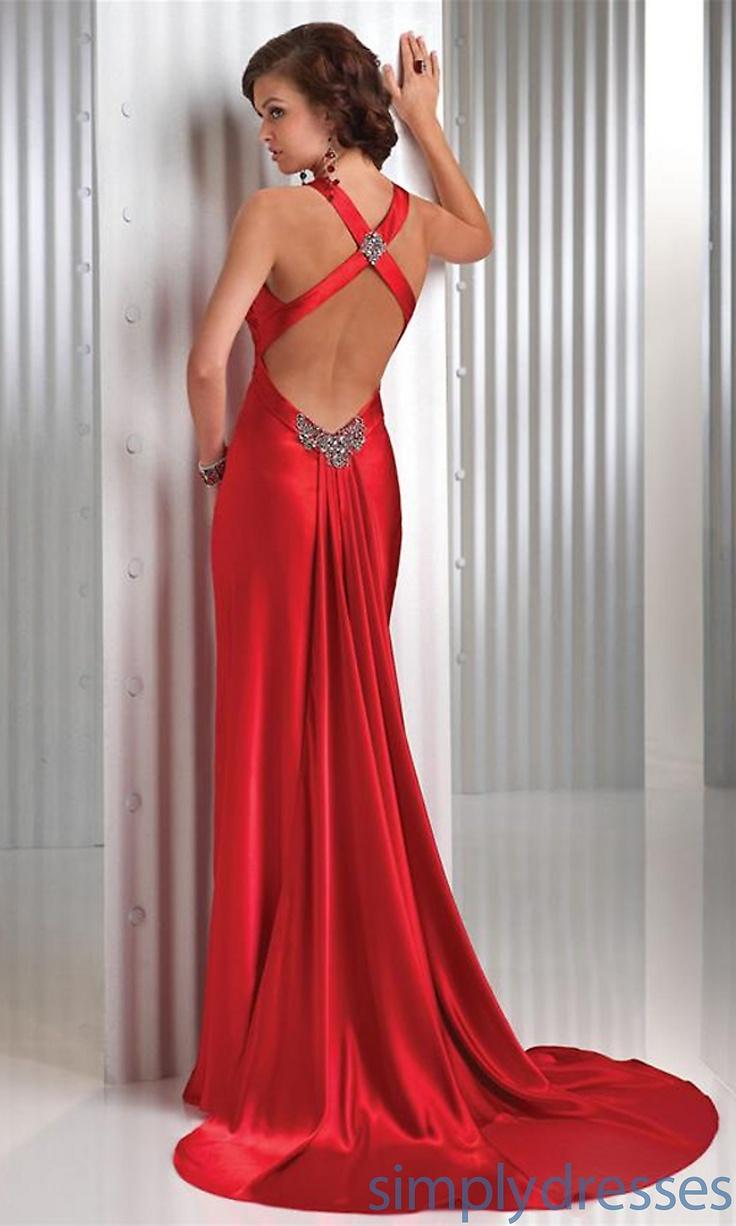 Sexy Red Prom Dress by Flirt FL-P4415