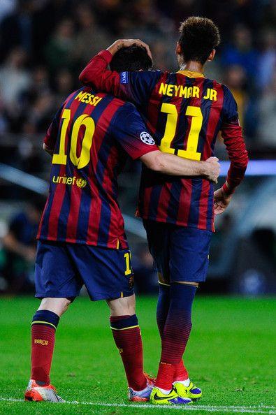 Los mejores jugadores del mundo juntos♡ Ney-Messi