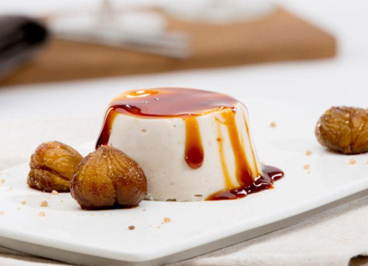 Herbst- und Winterzeit ist Marroni-Zeit! Ob wie hier als Dessert, mit Rotkohl serviert oder pur vom Marroni-Häuschen, die braunen Nüsse schmecken einfach super.
