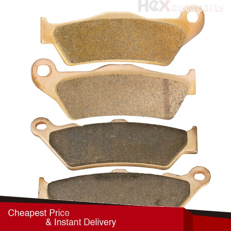 Hex AutoParts- Best Front Sintered Brake Pads For 2005 2006 2007 2008 BMW HP2