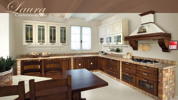17 migliori idee su cucine rustiche su pinterest mobili rustici da cucina case rustiche e - Idee case rustiche ...