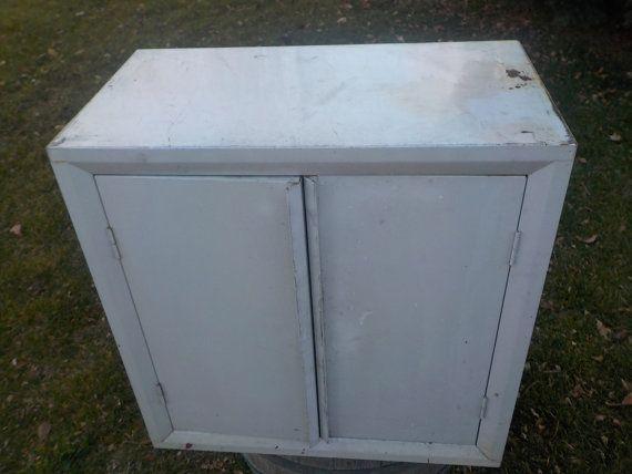 Metal Storage Cabinet/Garage/Storage by Daysgonebytreasures