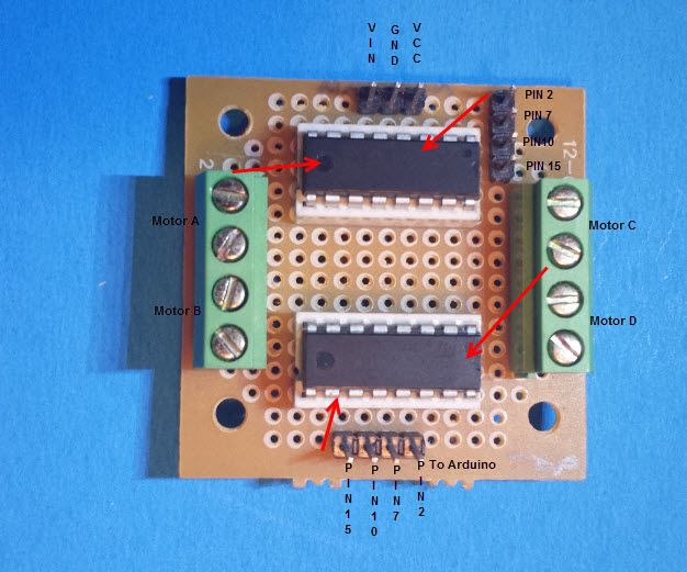 Best 25 arduino motor control ideas on pinterest Arduino motor control board