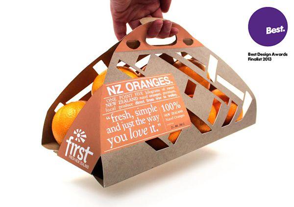 Packaging Design - Oranges on Behance