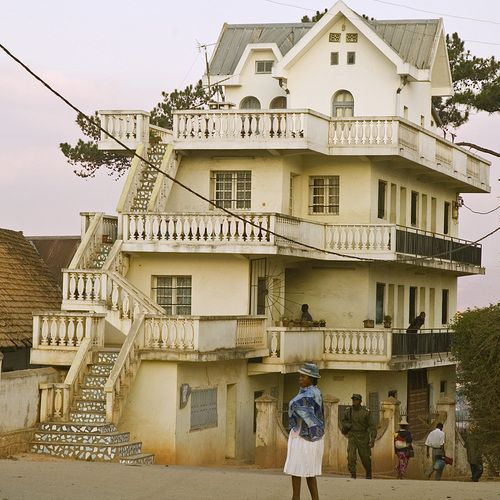 French Colonial House A Style Of Architecture Used By The