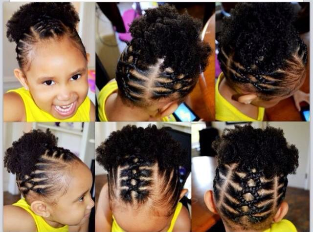 Natural Hair Braiding Styles For Kids: 284 Best Braided Protective Styles Images On Pinterest