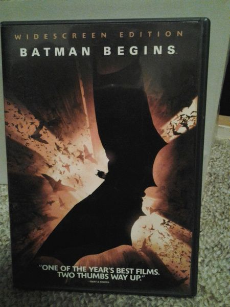 It stars Christian Bale as Batman along with Michael Caine, Liam Neeson, Katie Holmes, Cillian Murphy, Gary Oldman, and Morgan Freeman. The film reboots the Batman film series, telling the origin story of the character from Bruce Wayne's initial fear of bats, the death of his parents, his journey to become Batman, and his fight against Ra's al Ghul's plot to destroy Gotham City by vaporizing the water supply into gas laced with the Scarecrow's fear-inducing toxin.