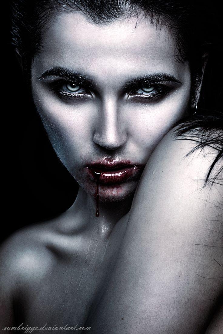 Vampire's Gaze VI by SamBriggs.deviantart.com on @deviantART