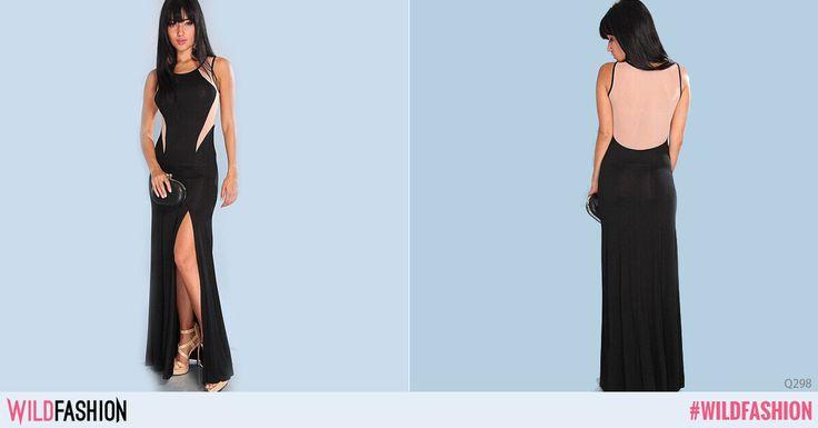 Ții minte faimoasa rochie neagră a Angelinei Jolie?   Rochia #wildfashion te va face la fel de atractivă ca Angelina Jolie în ochii celor care te vor vedea, iar crăpătura ei sexy va face senzație!  Like dacă îți place genul acesta de rochii, share dacă o comanzi!