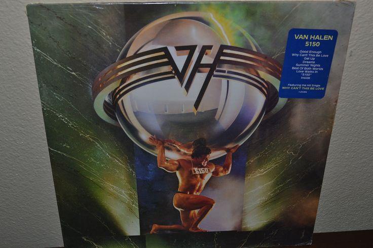 Resultado de imagen para van halen 5150 vinyl