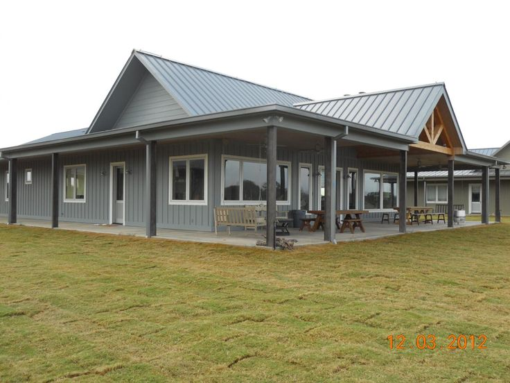 319 best barndominium images on pinterest metal building for Custom home architect cost