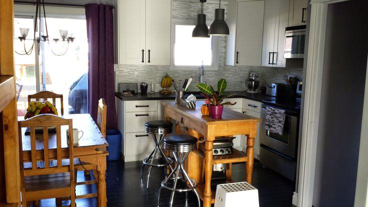My kitchen makeover! Ikea kitchen.