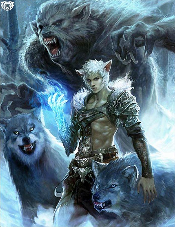 Todos os tipos de werewolf.