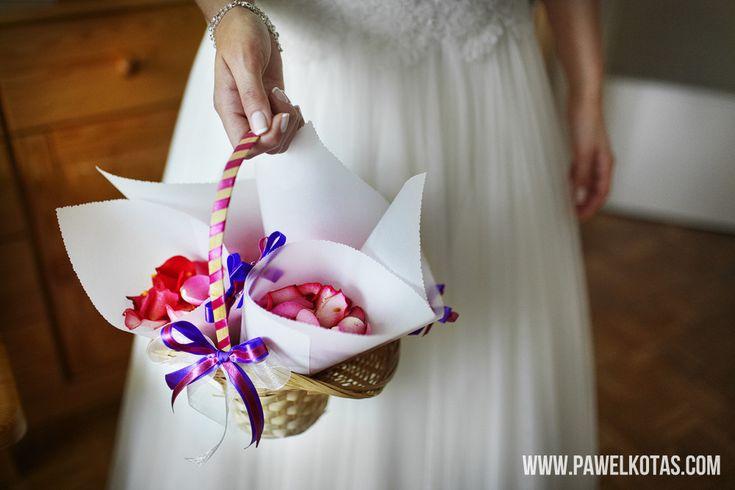 Płatki Kolorowych Kwiatów na Ślub