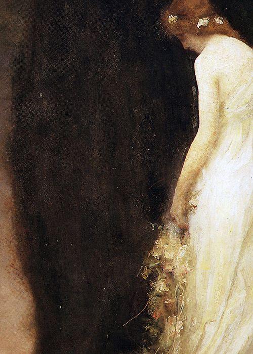 Le Soir (Détail) Gabriel Ferrier 1911