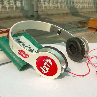 hitman reborn N02 earphone deep bass headset phone/computer headphone 3.5MM