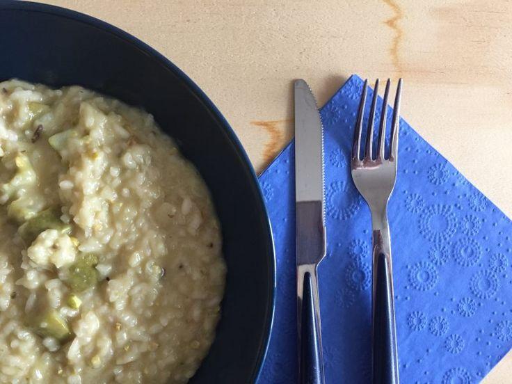 #risotto con #zucchine #trombetta