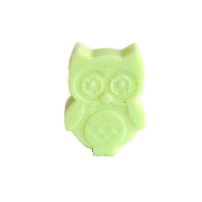 Cire Parfumée Citron Vert hibou chouette Cire Végétale Naturelle Parfum d'Ambiance : Accessoires de maison par fondants-de-cire-parfumes-fleur-artifice