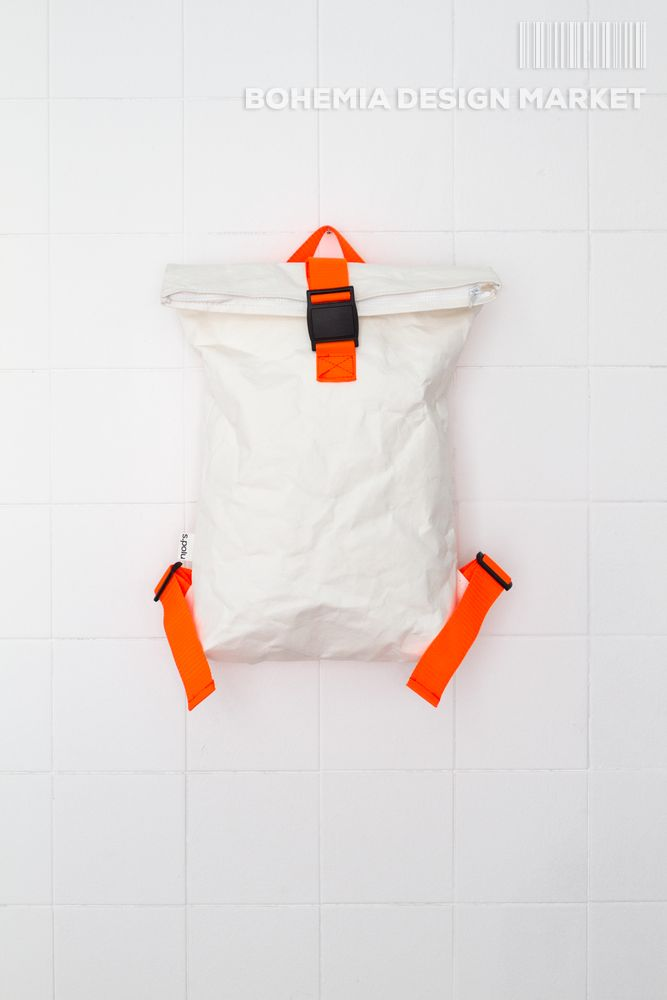 #vegan #eco #backpack #white #original #local #design