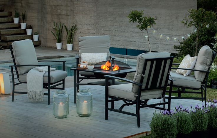 Sencillez y una linda mezcla de colores tenues airelibre for Easy terrazas chile