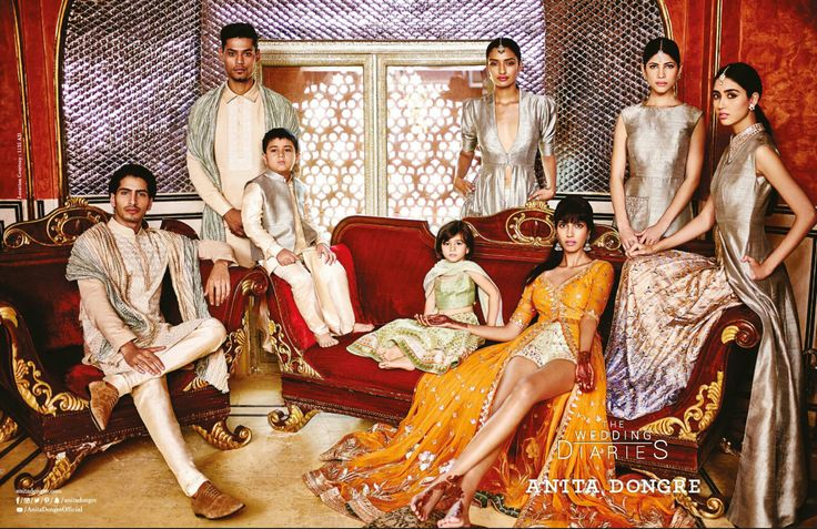 Anita Dongre - The Wedding Diaries - VOGUE India - August 2015