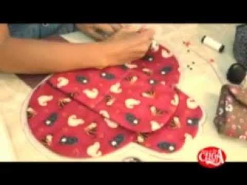 ▶ Bolsa Clutch toda em patchwork. - YouTube