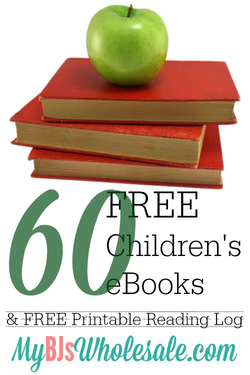 60+ Free Children's eBooks + Free Printable Reading Log