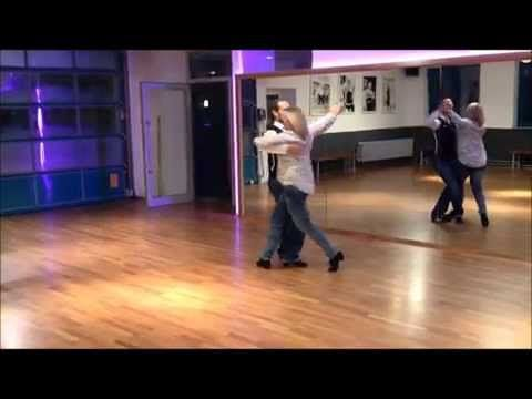 Walzerfolge Breitensport - Workshop - Langsamer Walzer - YouTube