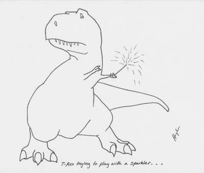 I don't know why I love T-Rex humor so much.