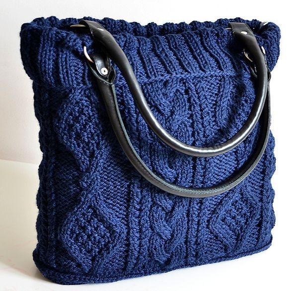 patron sac a tricot