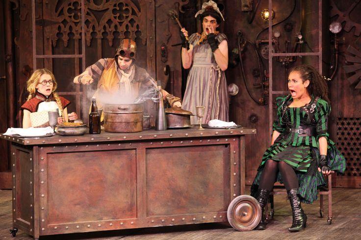 Lindsey Angell, Dawn Petten, Daniel Doheny, Sereana Malani. Photo by David Blue  #Bard2015 @BardontheBeach  -The Comedy of Errors