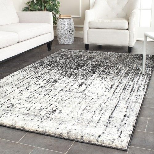 Best Safavieh Retro Black Grey Area Rug 8 9 X 12 Ret2770 400 x 300