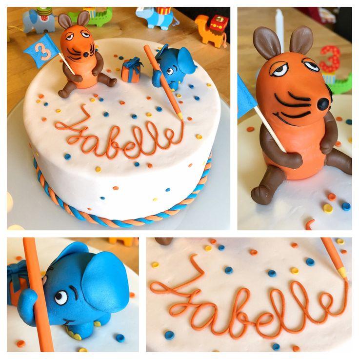 Sendung mit der Maus - Torte zum 3. Geburtstag