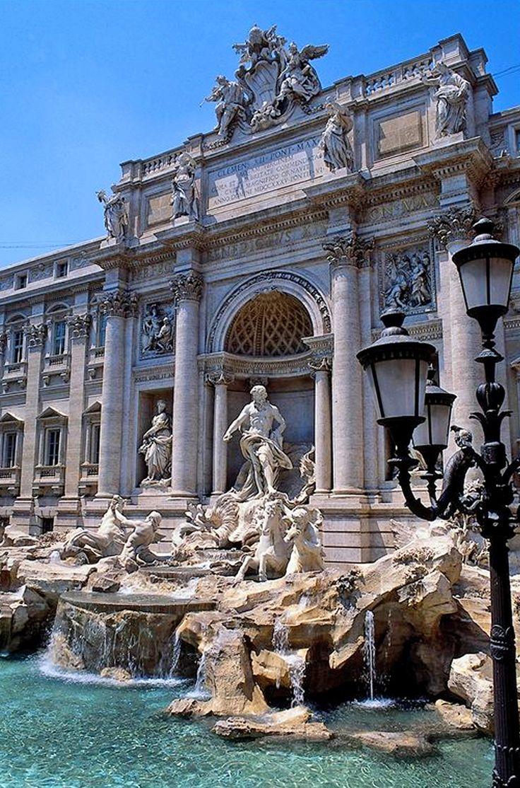 Рим, фонтан Треви - Фотоконкурс: архитектура в деталях   PINWIN - конкурсы для архитекторов, дизайнеров, декораторов