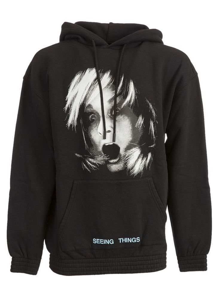 OFF-WHITE Off-White Screaming Girl Hoodie. #off-white #cloth #https: