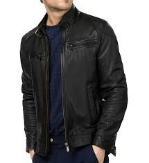Buy Mens Leather Biker jacket online at leathernxg