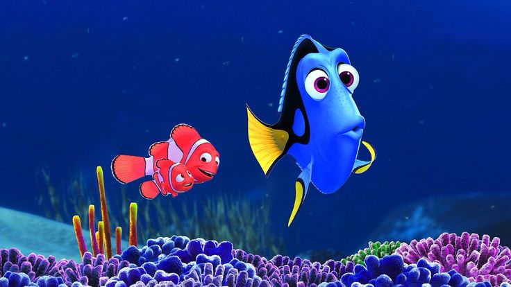 Marlin, Nemo and Dory