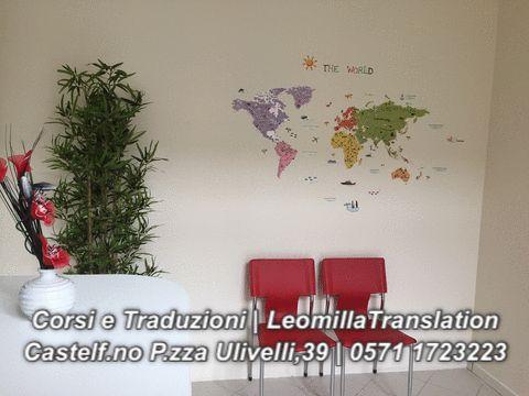 siamo a Castelfiorentino in piazza Ulivelli