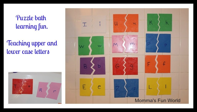 DIY....Alphabet Puzzle Learning great to make for a learning center in a class room.