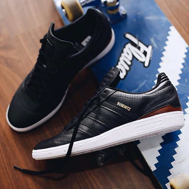 check out b42c8 2e18e adidas Skateboarding Busenitz Pro Classified BlackPerforated Leather   Sneaker  Sneakers, Shoes, Adidas
