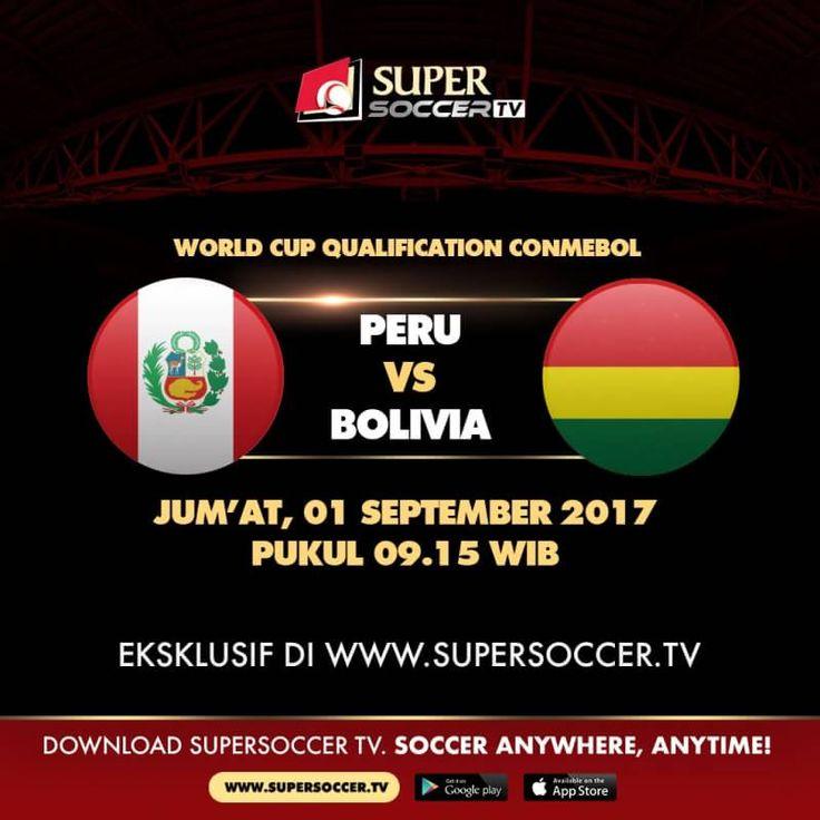 Peru harus menang lawan Bolivia dan berharap Ekuador dan Argetina kalah jika ingin punya peluang lolos Piala Dunia.     Saksikan kualifikasi Piala Dunia 2018 zona Amerika Selatan secara gratis hanya di #SuperSoccerTV. Segera daftarkan akun Anda dengan klik http://bit.ly/SSTVConmebol atau download Aplikasi Super Soccer TV di Android & iOS      #SoccerAnywhereAnytime