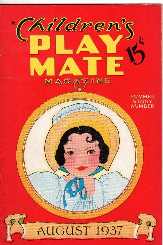 1937 Play Mate August with Fern Bisel Peat Paperdoll - Tansy