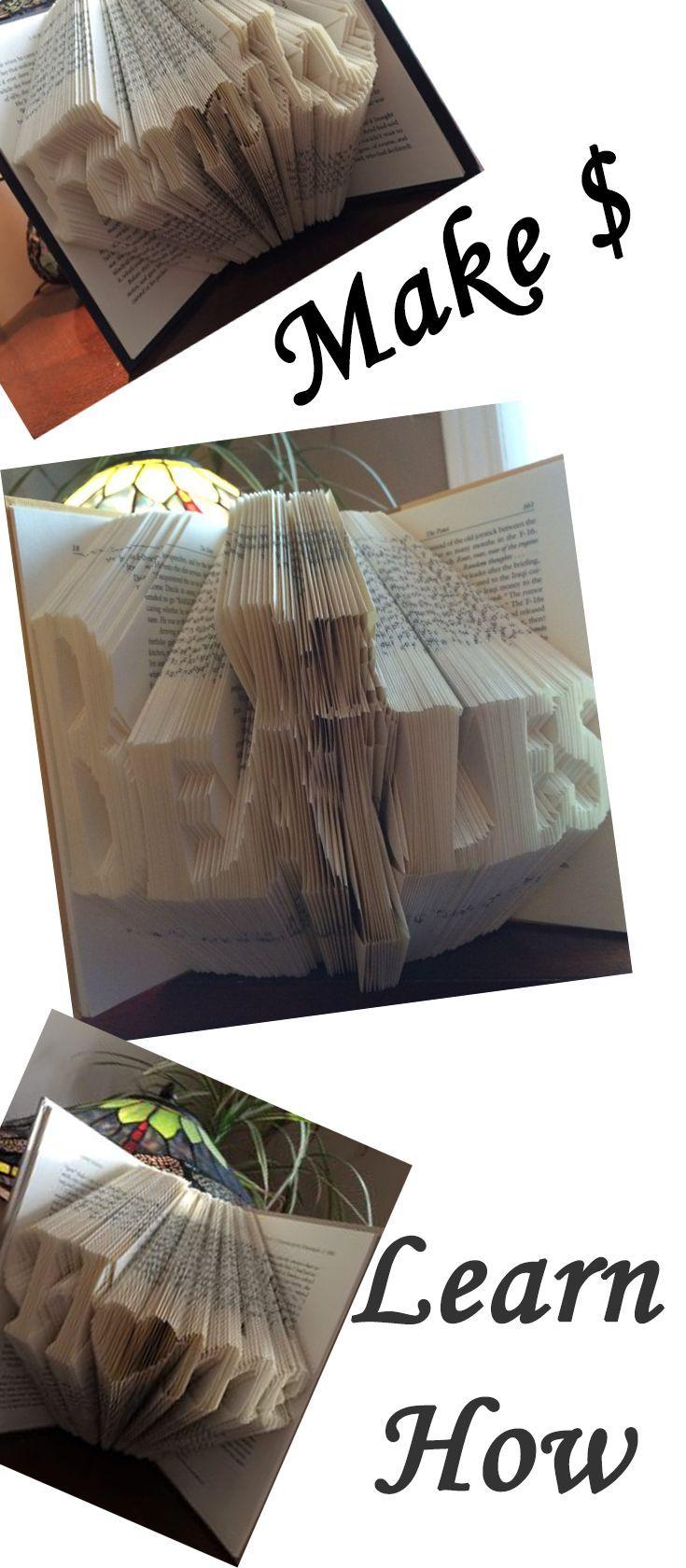 Lerne, wie man Buchkunst macht! Einfache Falttechnik mit aufgedrucktem Muster! SO …   – Top Blogs – Pinterest Viral Board